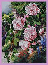 Набор для вышивания бисером Цветы в саду