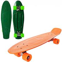 Скейт MS 0851 пенни,66-18,5см,алюм.подвеска,колеса ПУ,подшABEC-7, макс.нагруз.60кг