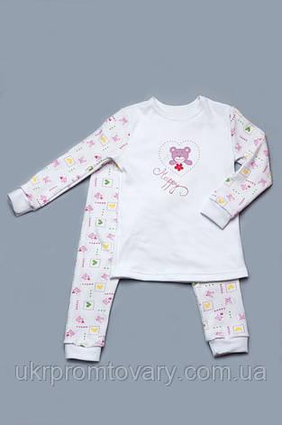 Пижама детская (розовый мишка), фото 2