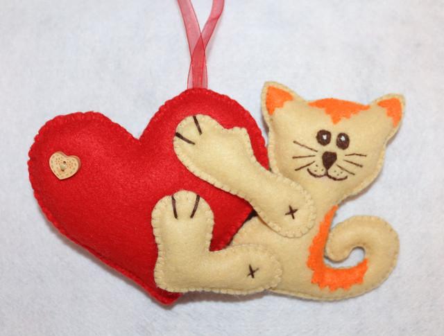 Игрушки и подарки из фетра HANDMADE - Сделано С ЛЮБОВЬЮ:))