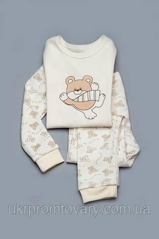 Пижама детская (коричневый мишка), фото 2