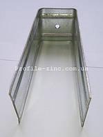 Кронштейн фасадный усиленный П-образный оцинкованный 250х63х250х2,0