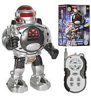 Робот M 0465 U/R (18шт) Р/У, Стреляет Дисками, Свет, На Бат-Ке, В Кор-Ке, 21-14-32см Код: M0465 U/R