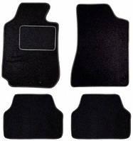 Коврики текстиль черные Beltex А (4шт) Baratti Т1 п-к из полипропилена