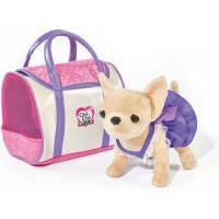 Мягкая игрушка Chi Chi Love Чихуахуа Стайлз с сумочкой 20 см (589 7407)