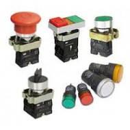 Кнопки, переключатели, светосигнальная арматура