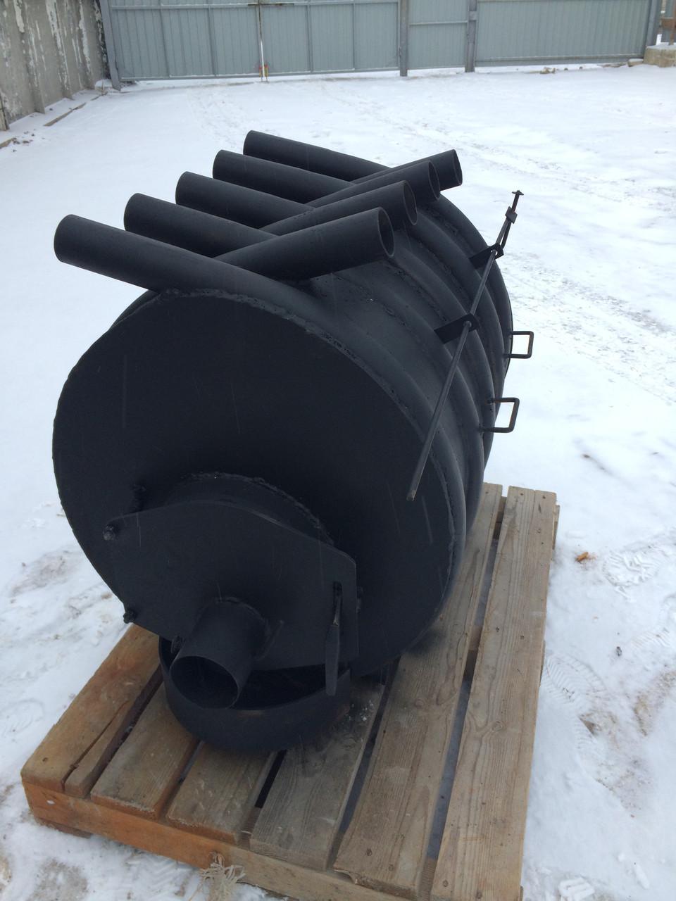 Отопительная печь булерьян Bulik (4 мм) Тип-02-400 м3