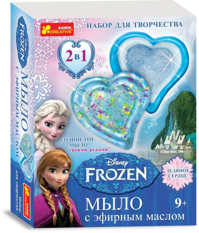 """Набор для мыловарения """"Бриллиантовое сердце. Frozen"""" - Детский интернет-магазин """"Кукурузка"""" в Харькове"""