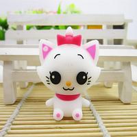 Детская силиконовая флешка котенок,кошка 16GB