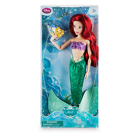 Кукла Disney Ariel  with Flounder Ариэль и Флаундер Дисней Оригинал, фото 1