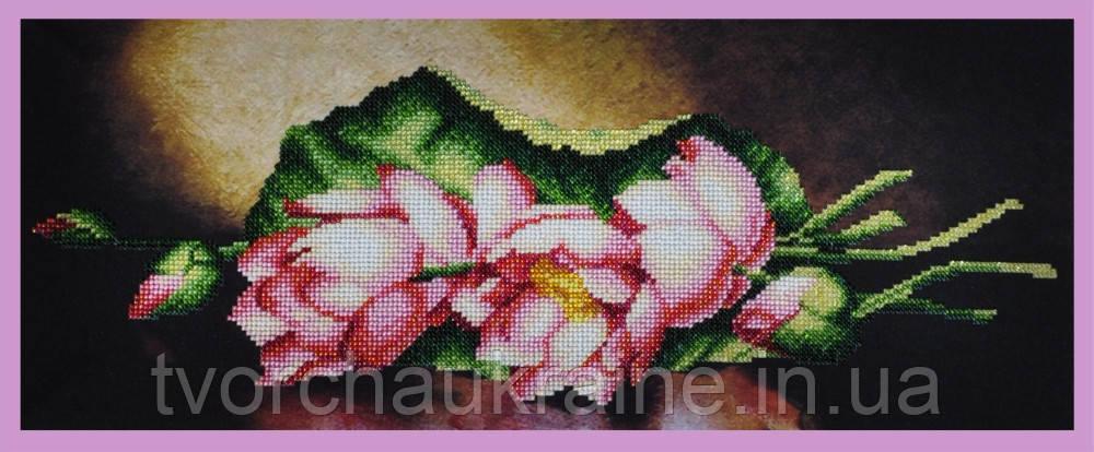 Набор для вышивания бисером Лотосы