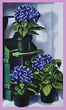 Набор для вышивания бисером Цветущая гортензия