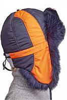Шлем шапка детская на мальчика зимняя Byti 48–52р. в расцветках