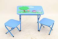 Детский столик с двумя стульями Ommi Смешарики