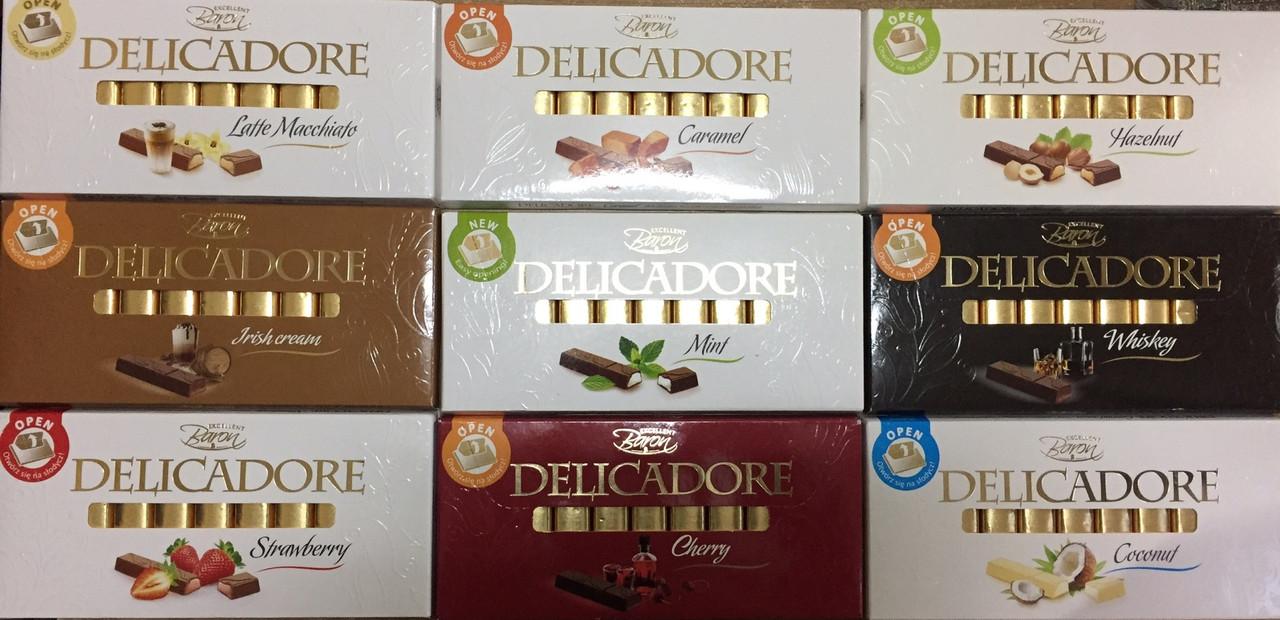 Шоколад Baron Delicadore 200g в ассортименте
