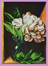 Набор для вышивания бисером Пион
