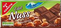 Шоколад Edel Nuss молочный с фундуком 200г