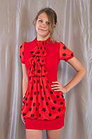 Оригинальное женское нарядное шифоновое платье-туника