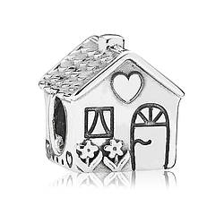 Серебряный шарм «Родной дом»