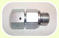 Соединение-адаптер корпус-гайка (резьба 12х1.5 - 1/8)