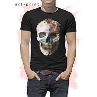 Черная футболка с черепом, фото 1