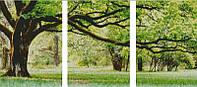 """Схема для вышивания """"Триптих дерево"""""""