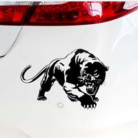 Дикая Пантера  Наклейка на Автомобиль, Мотоцикл 19.5*13.6 см