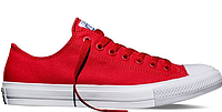 Кеды женские Converse Chuck Taylor All Star II Low (red) - 22W