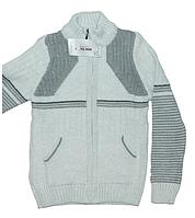 Модная кофта для мальчика на молнии, для зимнего периода,Турция