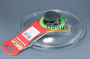 Крышка стеклянная 20см для посуды (низкая) Биол (НК200)