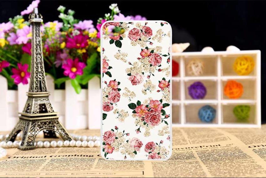 Чехол с картинкой для Meizu U10 - Чайная роза