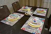 Подставка на стола Новогодний Адамс 45*30 см