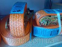 Ремень стяжной с трещеткой 10м для стяжки груза