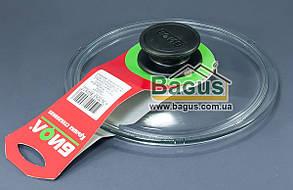 Крышка стеклянная 18см для посуды (низкая) Биол (НК180)