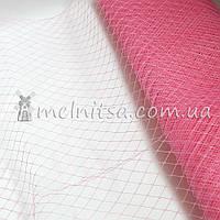 Вуаль шляпная, розовый (50 см)