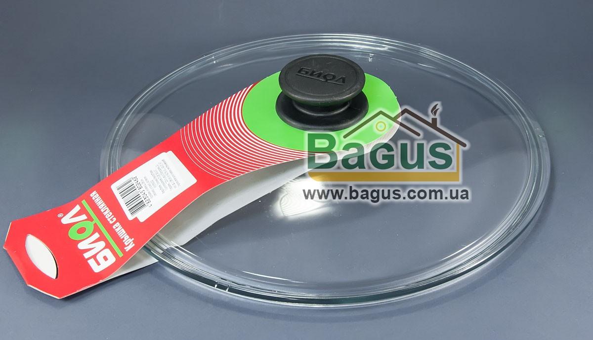 Крышка стеклянная 30см для посуды (низкая) Биол (НК300)