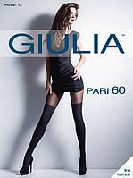 Фантазийные колготки с имитацией чулок и рисунком в горох TM Giulia