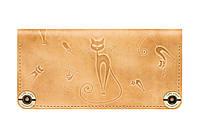 Стильный женский кошелёк Gato Negro Catswill Слоновая кость