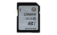 Карта памяти Kingstone Ultimate X SD HC 16 GB  (10 Class) 45 (mb/s)