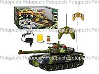 Боевой танк на радиоуправлении 99803-4