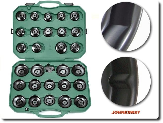 Комплект чашек для съема масленных фильтров 65-120 мм, 30 пр.