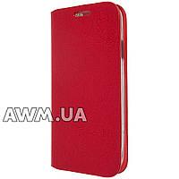 Чехол книжка для Samsung Galaxy S4 красный