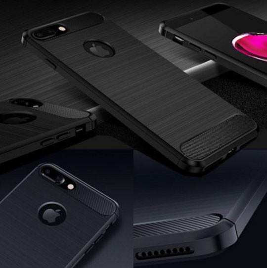 Противоударный бампер PRIMO Carbon Fiber Series для Apple iPhone 7 Plus / iPhone 8 Plus