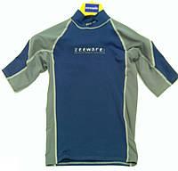 Мужская лайкровая футболка с уф защитой Seemann, серая
