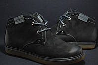 Стильные мужские ботинки натуральный нубук