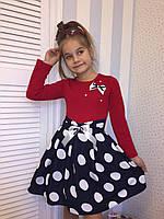 """Платье для девочек """"Стиляга""""1, размеры от 98 до 146 см"""