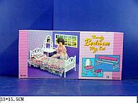 """Мебель """"Gloria"""" для спальни, в кор. 32*17*7см (Мебель """"Gloria"""")"""