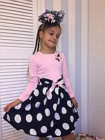"""Платье для девочек """"Стиляга"""" 8, размеры от 98 до 146 см"""