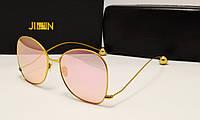 Солнцезащитные очки Jinnnn Розовый цвет