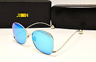 Солнцезащитные очки Jinnnn Голубой цвет